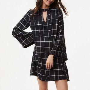 LOFT Bell Sleeve Sheath Tunic Dress